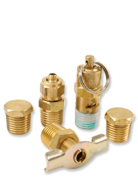 VIAIR offers a complete line of fitting accessories that include air source relocation kits, safety valves, quick connect couplers & studs, check valves, adapters, and more.