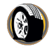 Tire Inflation Icon