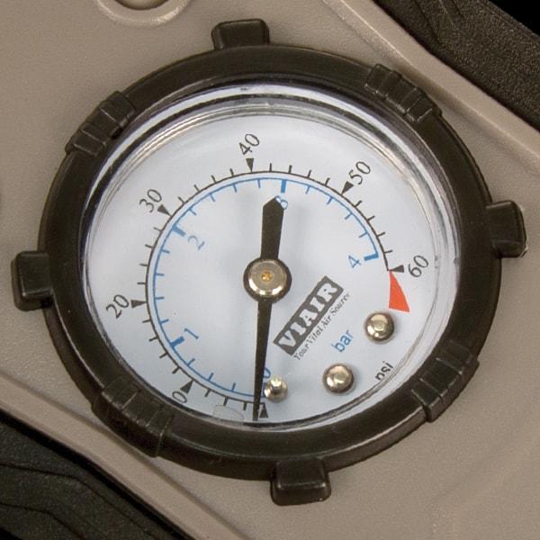 00075 - 60 PSI Gauge Close Up photo