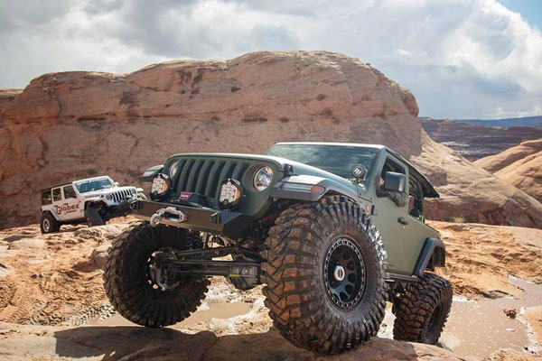 Jeep Photo at MOAB