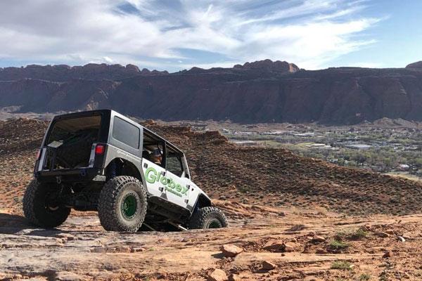 Jeep Photo at MOAB
