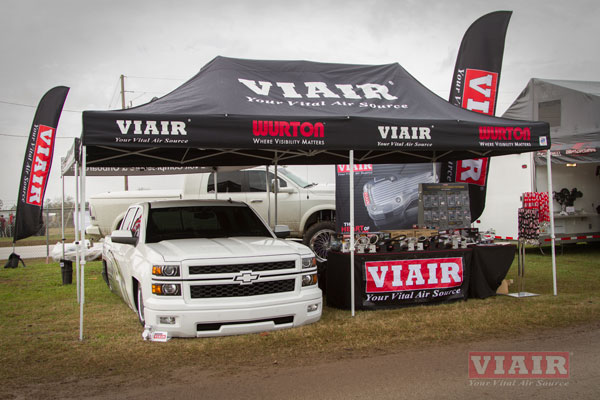 VIAIR Booth at LST