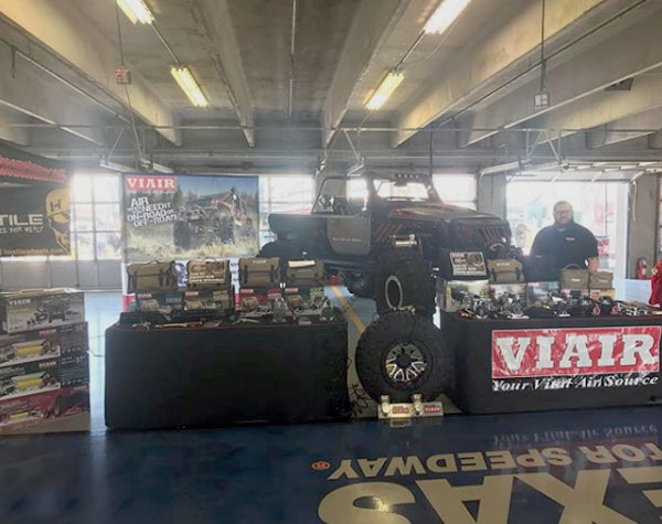 Unlimited Off Road Show Booth