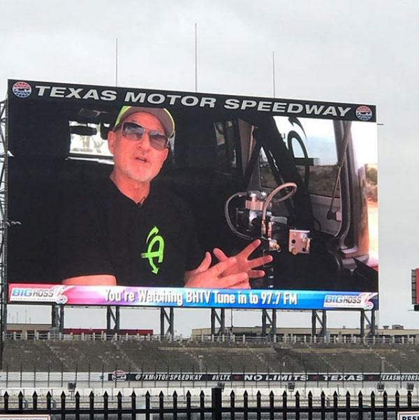 Unlimited Off Road Expo Big Screen
