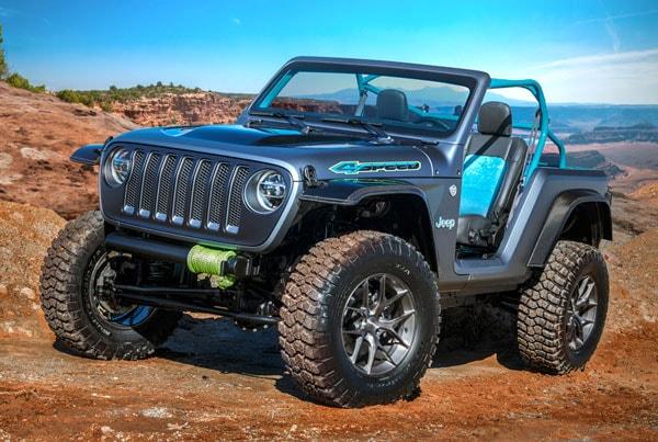 Jeep 4Speed Concept Vehicle 2018