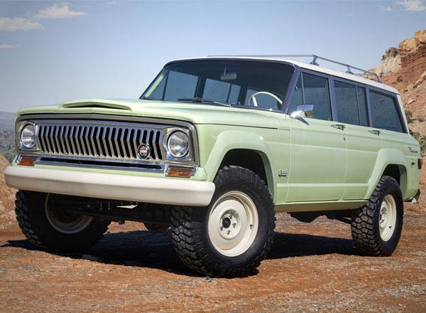 Jeep Wagoneer Roadtrip Concept Vehicle 2018