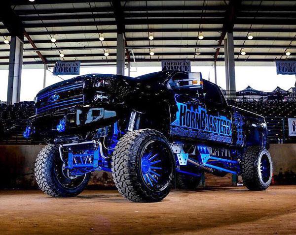 Hornblasters truck photo